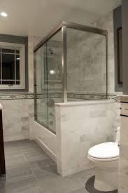 contemporary bathroom with daltile fabrique colorbody