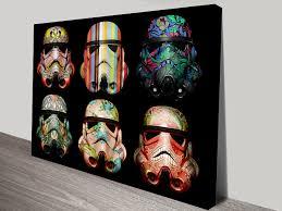 Star Wars Room Decor Uk by Buy Star Wars Pop Art Vintage Posters U0026 Stormtrooper Wall Canvas