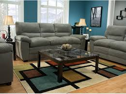 Chateau Dax Jackson Leather Sofa by Peyton Microsuede Sofa Grey The Brick Living Room