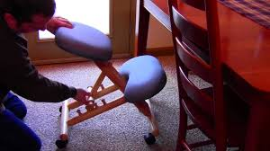 Gravity Balans Chair Cena by Ergonomic Kneeling Chair Review Youtube