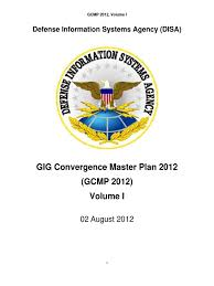 Disa Siprnet Help Desk by Defense Information Systems Agency Disa Gig Convergence Master
