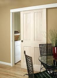 Sliding Door With The Hardware Hidden A Good Idea For The Kitchen