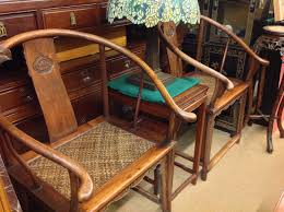 Pair Of Rosewood Chairs With A Center Table(Sold)