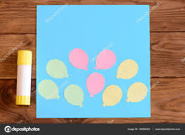Childrens Paper Crafts Idea Colored DIY Concept Color Card Greeting Simple Photo By OnlyZoia