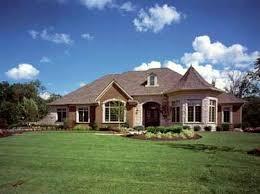 Pretty One Story Houses