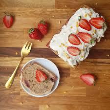 erdbeer bananen kuchen