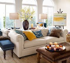 Pb Chesterfield Tufted Sofa Kiln Dried Hardwood Frame Comfortable ... Ikea Ektorp Sectional In Risane Natural The Cover Is Removable Backyard Progress The Sunny Side Up Blog Pottery Barn Living Room For A Transitional With Pit Ctham Set Regarding Pearce Sofa 2 Paolo Stripe Blue Smoke Standard Pillow Shams Beige Ethnic Trending Hmong Tribal Indigo Batik Applique Pillows 6th Street Design School Kirsten Krason Interiors House Tour Euro Pillows White Ruffled Decor Enchanting Decorative Covers For Home Accsories Best 25 Lumbar Pillow Ideas On Pinterest Inserts Daybeds Daybed Bolster Slip Cover