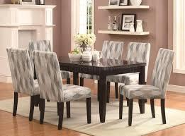103621 Newbridge 7Pc Dining Set Coaster Diamond Pattern Chairs