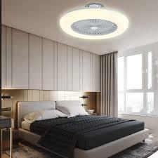 deckenventilator beleuchtung deckenleuchte kronleuchter mit dimmbar 3 farben fernbedienung leiser wind lüfter für schlafzimmer wohnzimmer esszimmer