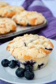 heidelbeer muffins mit streuseln