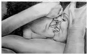 Black And White Cute Simple Pencil Sketch Love Drawings Art Hd Romantic Wallpaper
