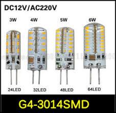 discount g4 led 12v ac 5w 2017 g4 12v ac led 5w on sale at