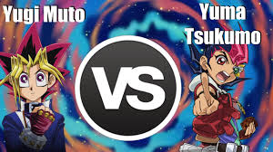 Yuma Tsukumo Deck Manga by Character Duels Yugi Muto Vs Yuma Tsukumo Youtube