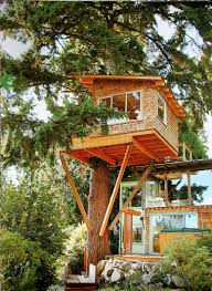 100 Modern Tree House Plans Pin By John Suhar On Houses Tree House Cool