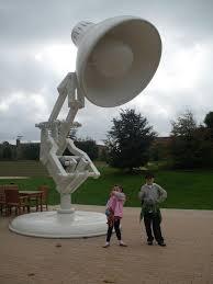 Luxo Jr Lamp Model by A Family U0027s Trip To Pixar Animation Studios