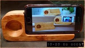 Your Rustic Phone Ipods Mp Player And Solid Cool Wood Projects For Phones Stand