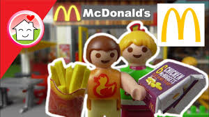 playmobil bei mcdonalds mcdrive kinderfilme familie hauser