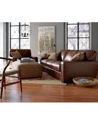 West Elm Bliss Sofa Craigslist by Valyn Leather Sofa Couches U0026 Sofas Furniture Macy U0027s Macys