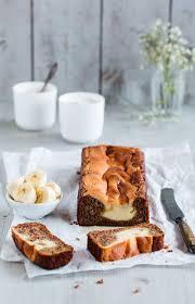 banana bread mit cheesecake swirl