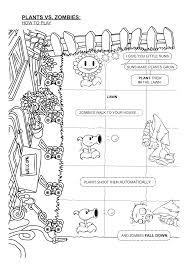 Dibujos Para Colorear Zombies Vs Plantas Dibujos De Plantas Vs