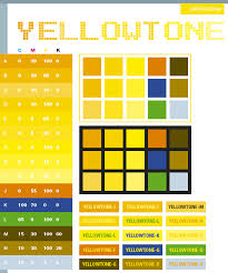 Yellow Tone Color Scheme