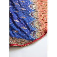 Handmade Sari Christmas Tree Skirt