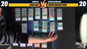 mtg merfolk deck legacy versus series deck tech merfolk with josh cho