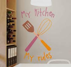 wandtattoos küche meine küche meine regeln drucken design