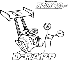 Coloriage Turbo Smoove Move à Imprimer Sur COLORIAGES Info