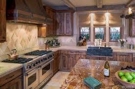 craftsman kitchen with kitchen island flush in newport ca