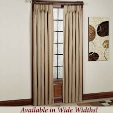Heat Insulating Curtain Liner by Crosby Pinch Pleat Thermal Room Darkening Window Treatments