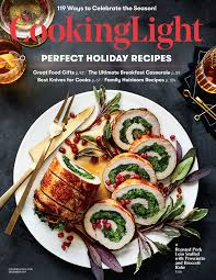 December 2017 Magazine Features Cooking Light