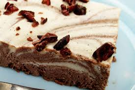 traumhafte nix backen schokolade vanille schnitten vegan