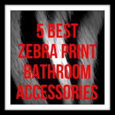 Zebra Print Bathroom Decor by Flip Flop Bathroom Accessories Ideas Essential Homes For You
