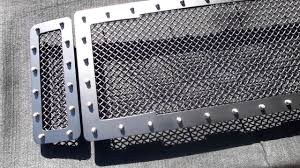 Ford Diesel Super Duty 08-10 Studded Mesh Custom Grille - YouTube Custom Grill Mesh Kits For Nissan Vehicles By Custcargrillscom For Acura Tl Best Truck Resource Jrs Auto Jeeps Trucks Sprinters Autos Work Two Grills To Make One Bumper 1953 Chevy Billet Grilles Your Car Truck Jeep Or Suv Lift Accsories Agricultural Equipment More Classic Trucks Grills Black Tshirt Tread Wear Tshirts Car And Cummins Diesel 2006 Dodge 2500 3500 Studded Grille Running Boards Brush Guards Mud Flaps Luverne Sharp Big Lettering Toyota Customcargrills
