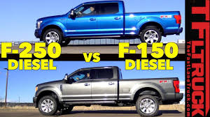 100 Fast Ford Trucks Which One Is Er 2018 F150 Vs F250 Diesel Mashup Review