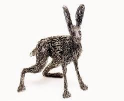 Wire Sculpture Art Animals