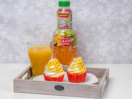 vanille pfirsich cupcakes