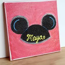 Mickey Ears Art Piece