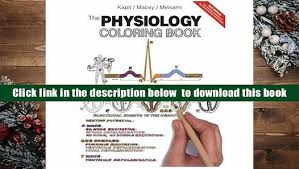 Physiology Coloring Book Kapit Free Download The Nd Edition