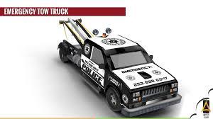 3D Asset Emergency Tow Truck | CGTrader