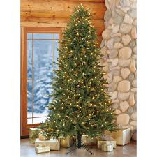 4 Ft Pre Lit Led Christmas Tree by 7 5 U0027 Artificial Pre Lit Christmas Tree