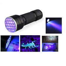 fronnor 21 led flashlight uv light portable ultraviolet blacklight