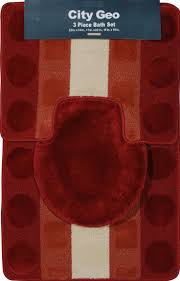 Red Bathroom Rug Set by 16 Best Bathroom Accessories Images On Pinterest Bathroom Ideas