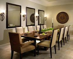 Dining Room Decorating Ideas Image Of Mirrors On Wall Cheap
