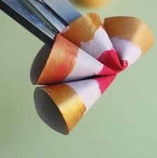 fleur en rouleaux de papier toilette jouonsensemble