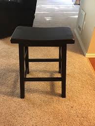 two black bar stools from fred meyer furniture in kirkland wa