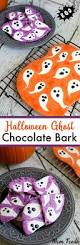 Halloween Town Casts by Halloween Ghost Chocolate Bark 14 Wicked Halloween Desserts To