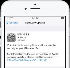 Apple releases iOS 10 3 1 with Wi Fi vulnerability fix brings