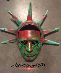 Halloween Purge 2 Mask by Lady Liberty Purge Masks Complete And Ready To Ship
